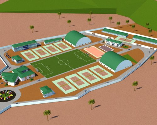 HELP US COMPLETE THE SOUZA TENNIS ACADEMY