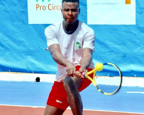 FIRST PLAYER IN CAMEROON SINCE 2007 TO EARN AN ATP RANKING
