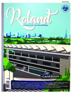 Cover of the 2020 issue of Roland, the official magazine of the French Open